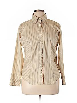 Ashley Stewart Long Sleeve Button-Down Shirt Size 14