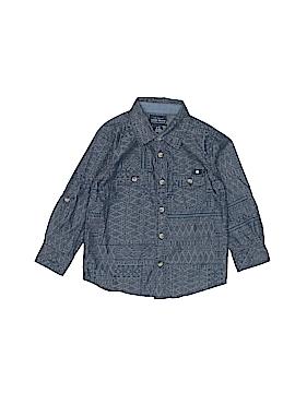Lucky Brand Long Sleeve Button-Down Shirt Size 2T