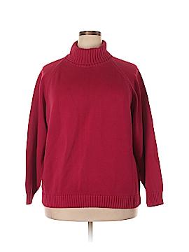 Lands' End Turtleneck Sweater Size 2X (Plus)