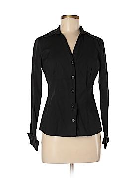 INC International Concepts Long Sleeve Button-Down Shirt Size 6 (Petite)