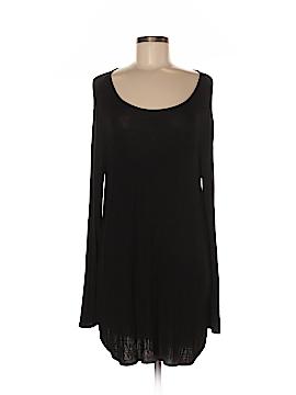 Joan Vass Long Sleeve Top Size M