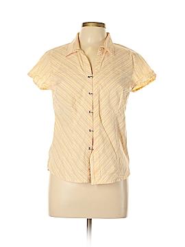 A.L.C. Short Sleeve Button-Down Shirt Size L