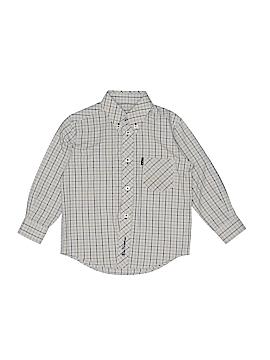 Ben Sherman Long Sleeve Button-Down Shirt Size 2 - 3