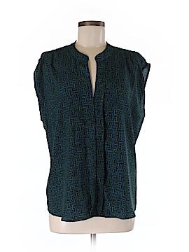 Eclair Short Sleeve Blouse Size M