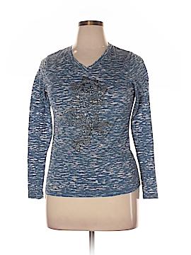 Covington Long Sleeve T-Shirt Size XL (Petite)