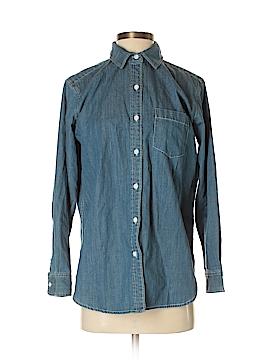 Grana Long Sleeve Button-Down Shirt Size S