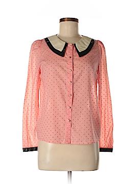 Ochirly Long Sleeve Blouse Size M