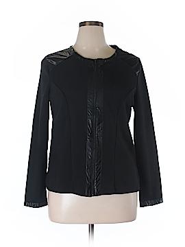 Dots Faux Leather Jacket Size 14