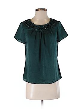 Talbots Short Sleeve Blouse Size 4 (Petite)