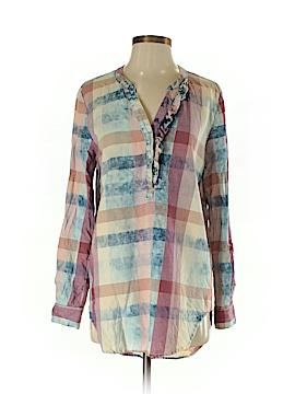 Trovata Long Sleeve Button-Down Shirt Size S