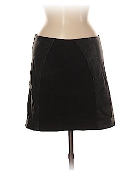 BB Dakota Leather Skirt Size M