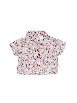 G Short Sleeve Button-Down Shirt Size 0-3 mo