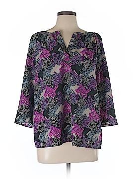 DKNY 3/4 Sleeve Blouse Size L