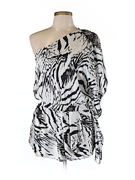 Very J Short Sleeve Blouse Size M