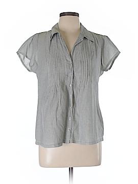 Converse Short Sleeve Button-Down Shirt Size L