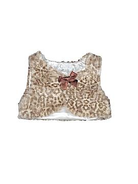 Quiltex Faux Fur Vest Size 12 mo