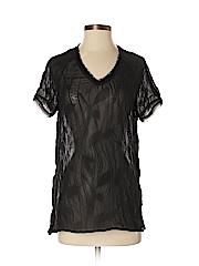 Simply Vera Vera Wang Women Short Sleeve Blouse Size XS