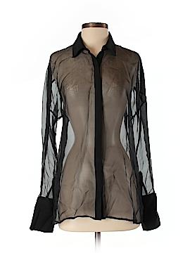 ABS Allen Schwartz Long Sleeve Blouse Size S