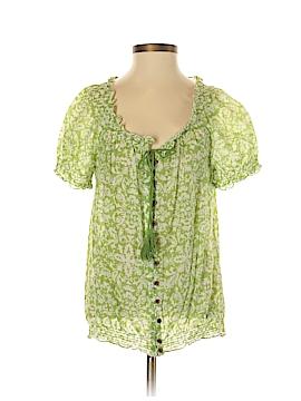Ann Taylor LOFT Short Sleeve Button-Down Shirt Size S