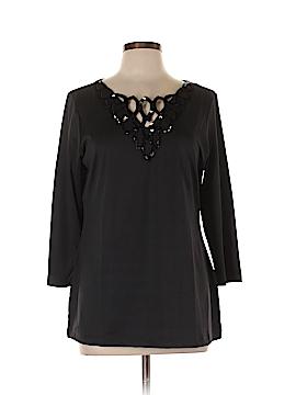 Avon 3/4 Sleeve Top Size L