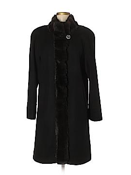 Albert Nipon Wool Coat Size M