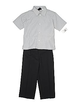 Van Heusen Short Sleeve Button-Down Shirt Size 4