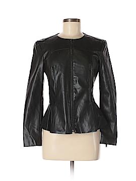 Zara Basic Faux Leather Jacket Size M