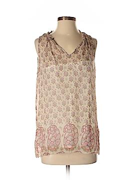 Lucky Brand Sleeveless Silk Top Size S
