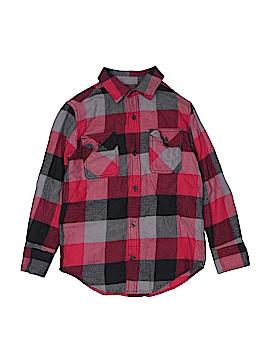 Tony Hawk Long Sleeve Button-Down Shirt Size S (Youth)