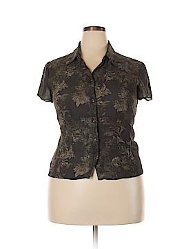 Jones Wear Short Sleeve Blouse Size 16