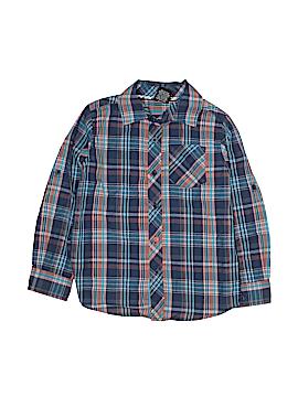 Tony Hawk Long Sleeve Button-Down Shirt Size M (Kids)