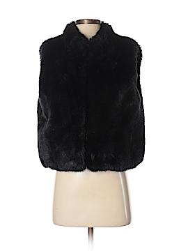 Lord & Taylor Faux Fur Vest Size Sm - Med