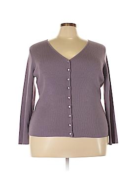 Casual Corner Cardigan Size 1X (Plus)