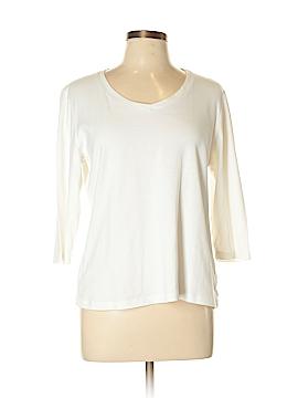 St. John's Bay 3/4 Sleeve T-Shirt Size L (Petite)