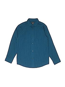 Dockers Long Sleeve Button-Down Shirt Size 10 - 12