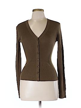 Rene Lezard Wool Cardigan Size M