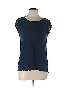 Cynthia Rowley Short Sleeve Top Size L