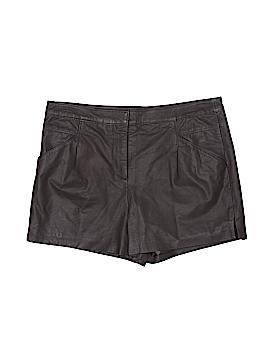 ASOS Leather Shorts Size 8
