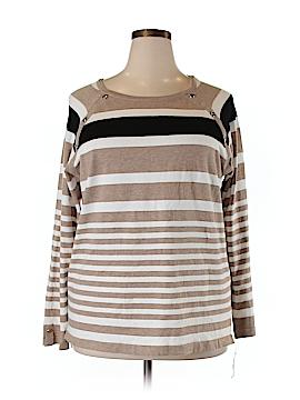 Karen Scott Pullover Sweater Size 1X (Plus)
