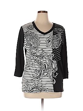 Karen Scott Sport 3/4 Sleeve T-Shirt Size 0X (Plus)