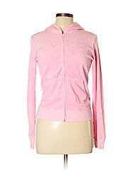 Juicy Couture Women Zip Up Hoodie Size L