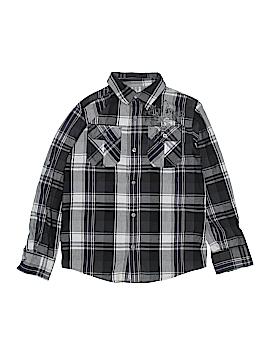 Helix Long Sleeve Button-Down Shirt Size M (Kids)