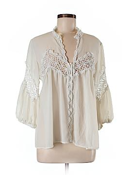 Ark & Co. 3/4 Sleeve Blouse Size M