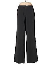 Giorgio Armani Women Wool Pants Size 48 (IT)