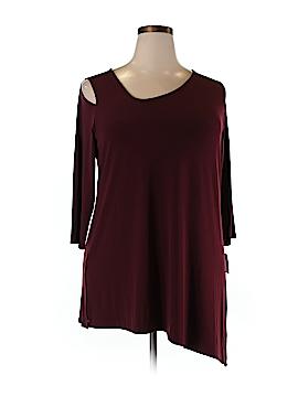 Alfani 3/4 Sleeve Top Size 2X (Plus)