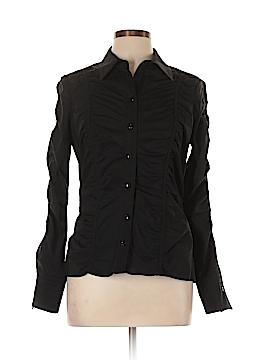 Joseph Ribkoff Long Sleeve Button-Down Shirt Size 10