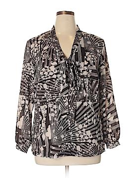Isabel + Alice Long Sleeve Blouse Size XL (Plus)