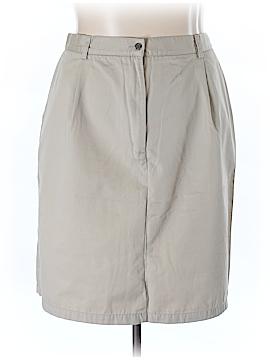 L.L.Bean Casual Skirt Size 24 (Plus)