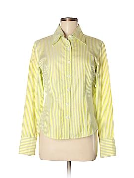 Dana Buchman Long Sleeve Button-Down Shirt Size 8