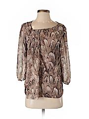 Jennifer Lopez Women 3/4 Sleeve Blouse Size S